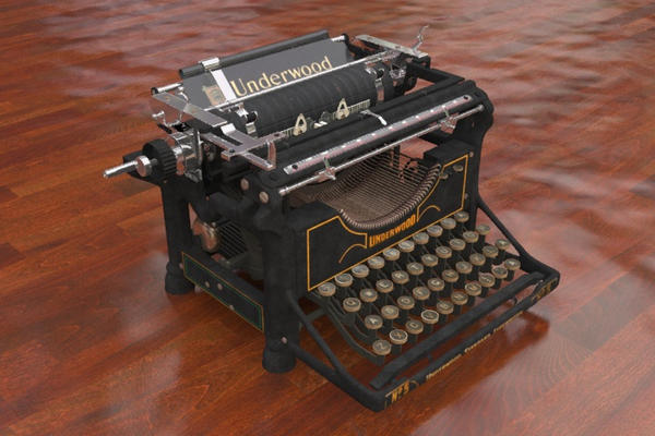 Typewriter underwood by MrSide