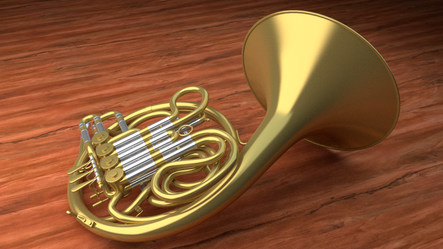 French Horn by MrSide