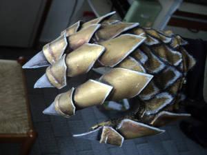 WIP -  Hand Armor (glove) - Elf Dragon