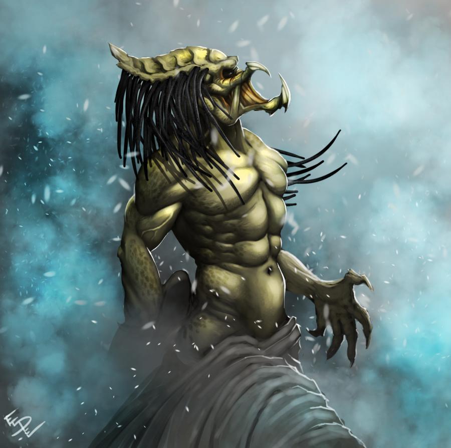Outcast Predator by ArtByElde