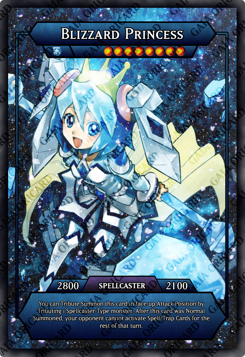 Blizzard Princess | Orica by Biohazard20