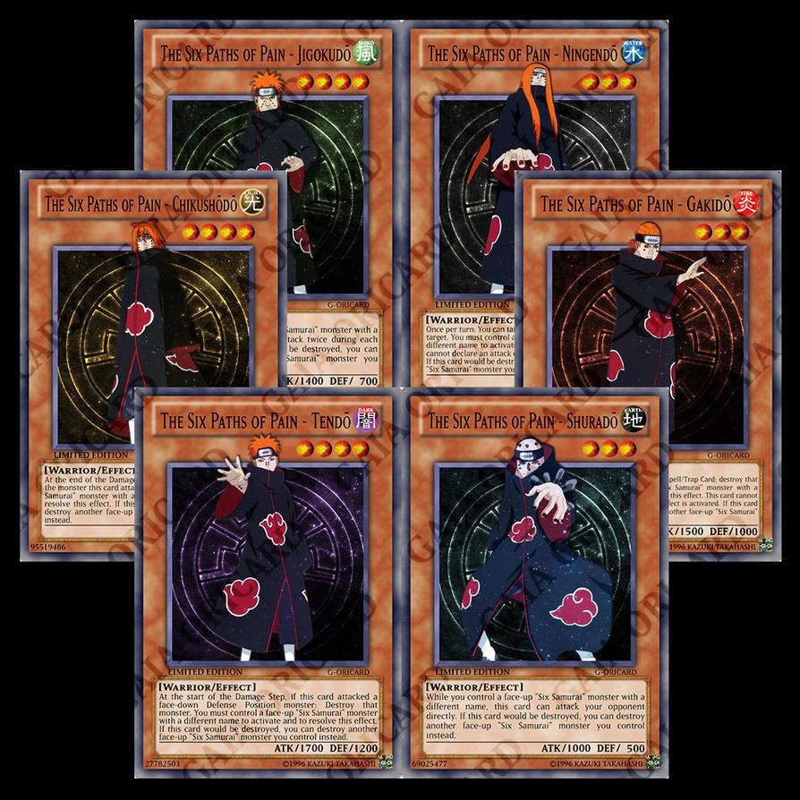 The Six Paths of Pain (Six Samurai) by Biohazard20