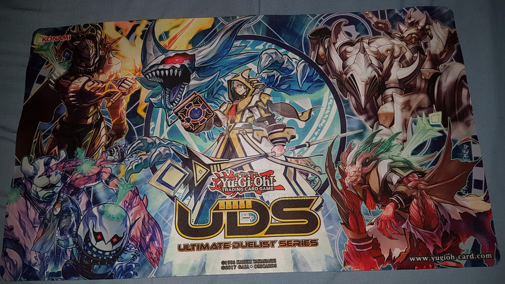 how to make a yugioh playmat