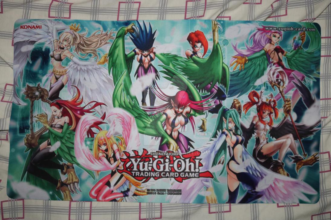Harpie Lady Custom Playmat By Gaia206 On Deviantart