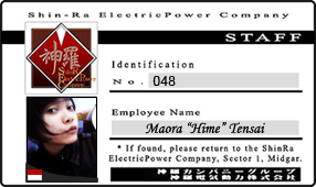 My ShinRa ID-Card by EdotenseiHime