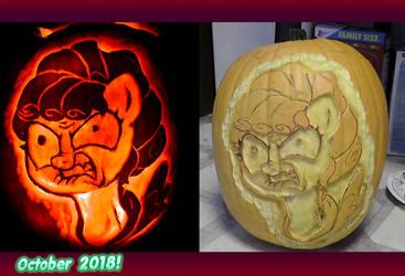 Cozy Glow pumpkin BACK OFF 2018