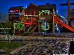 Light Graffiti - HDR'd - V1 by h0er