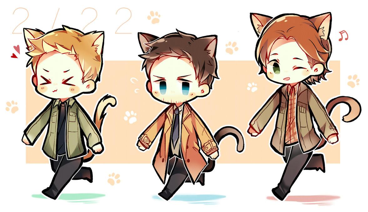 Kitty Supernatural by GAiTOsan