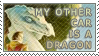 +STAMP+ My other car is a... by t3hphazondragon