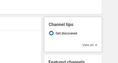 So I'm on my You Tube Channel homepage and . . . by Ballzy247