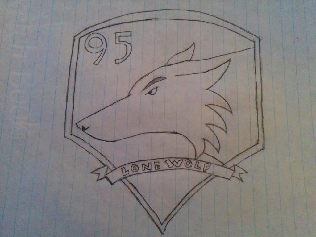 The lonewolf emblem by mrblouin95
