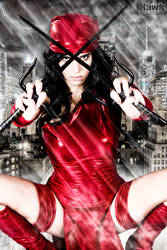 Red Storm Shadow by Larxenne