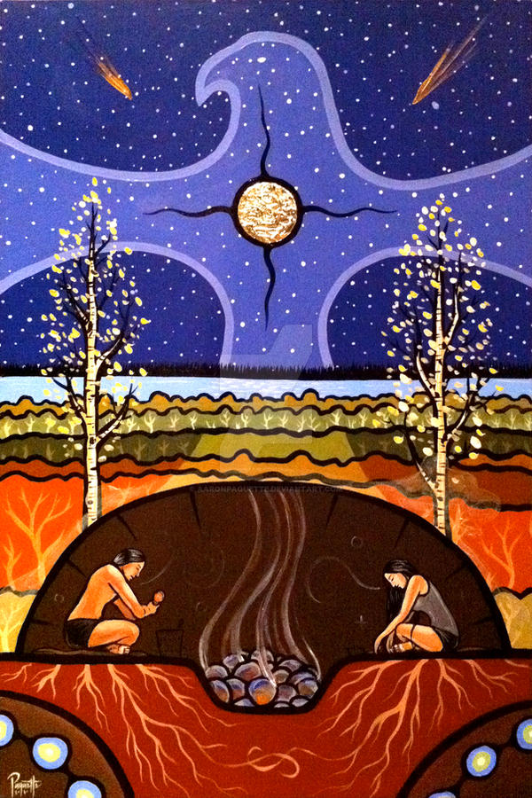 Teachings of the Sweat Lodge by AaronPaquette