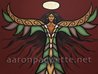 Thunderbird Woman