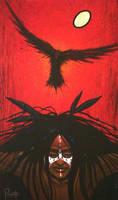 Crow Warrior by AaronPaquette