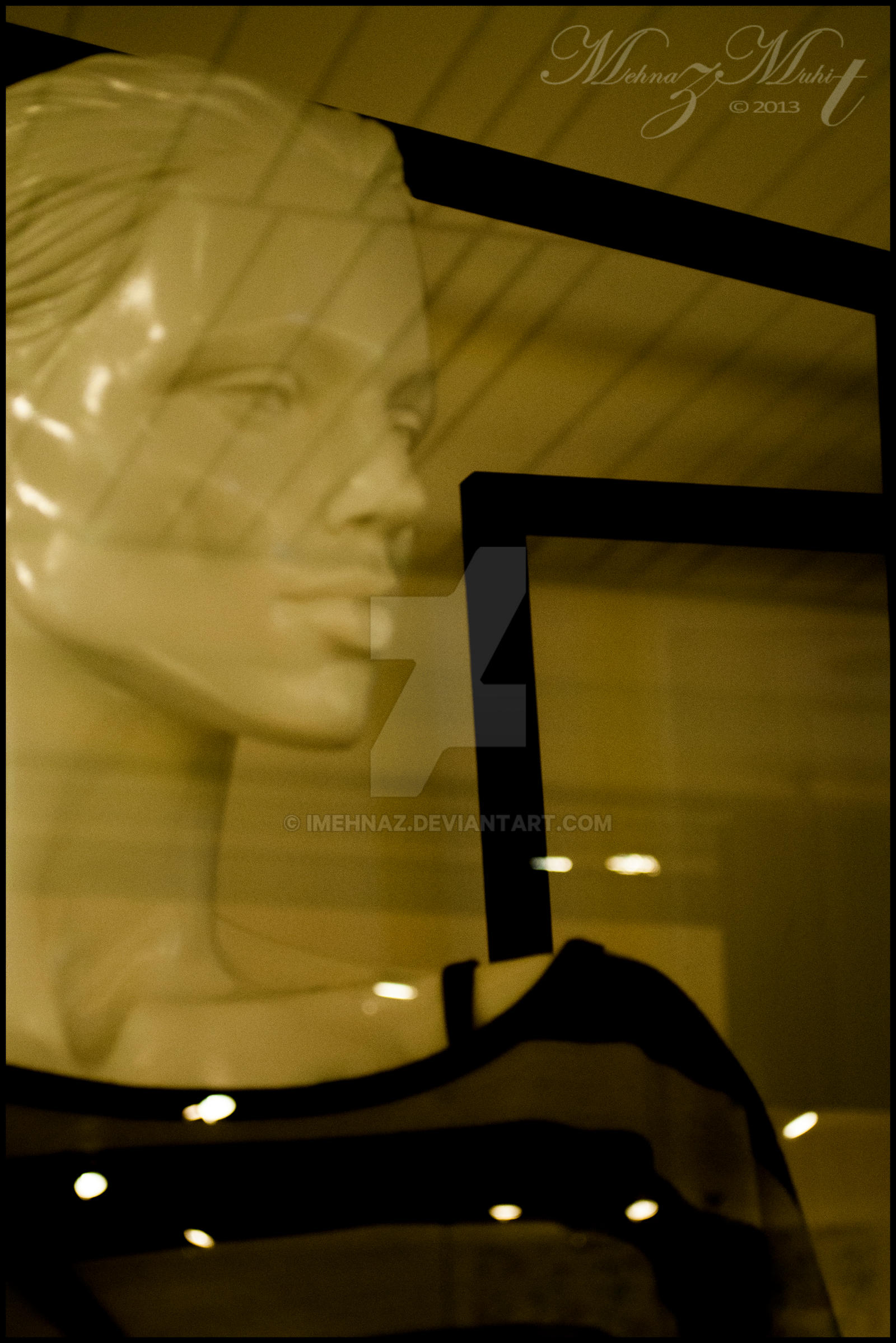 The woman in the window by iMehnaz