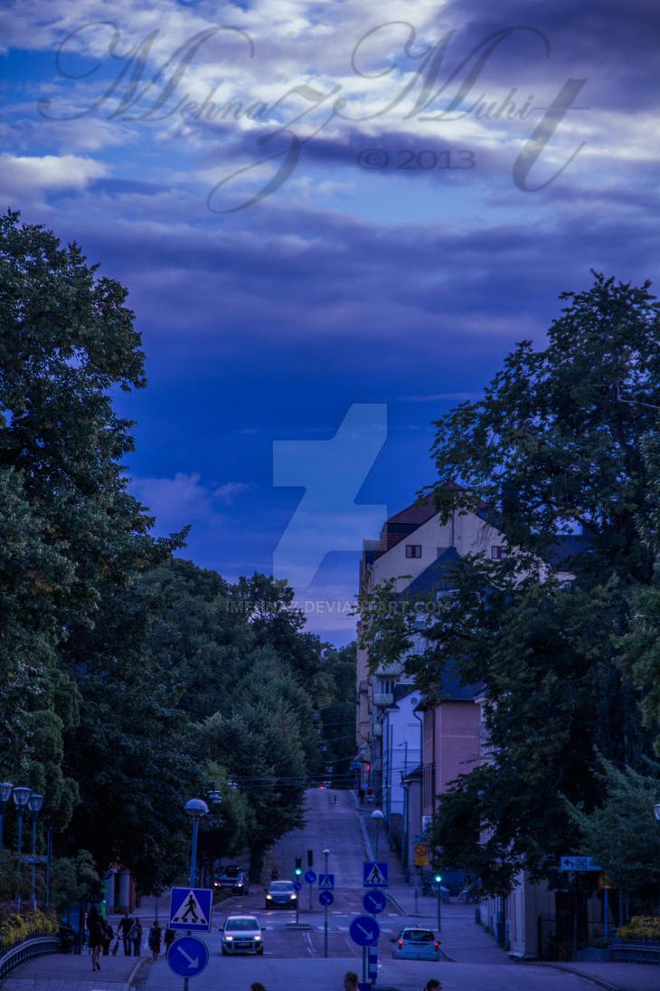 Road [Uppsala Series] by iMehnaz