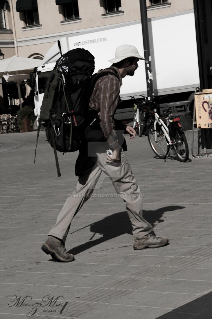 Traveler [Street Life Series] by iMehnaz