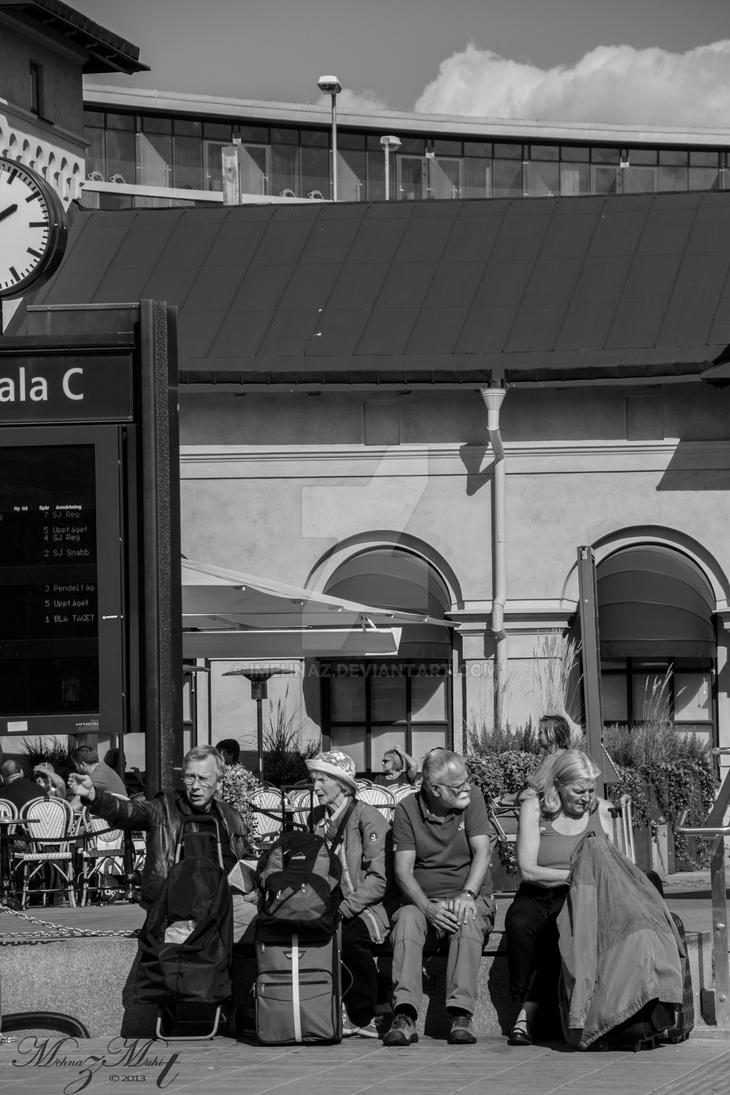 Waiting 2 [Street Life Series] by iMehnaz
