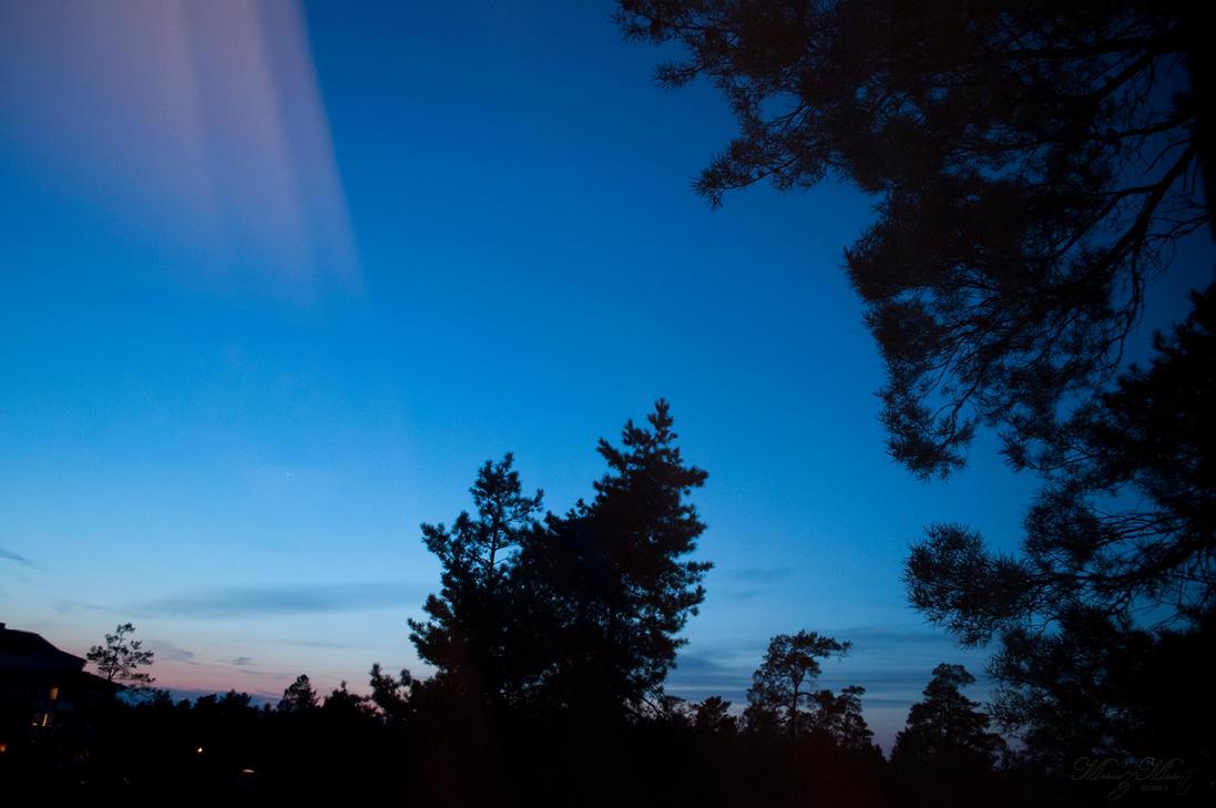 Evening Sky [unedited] by iMehnaz