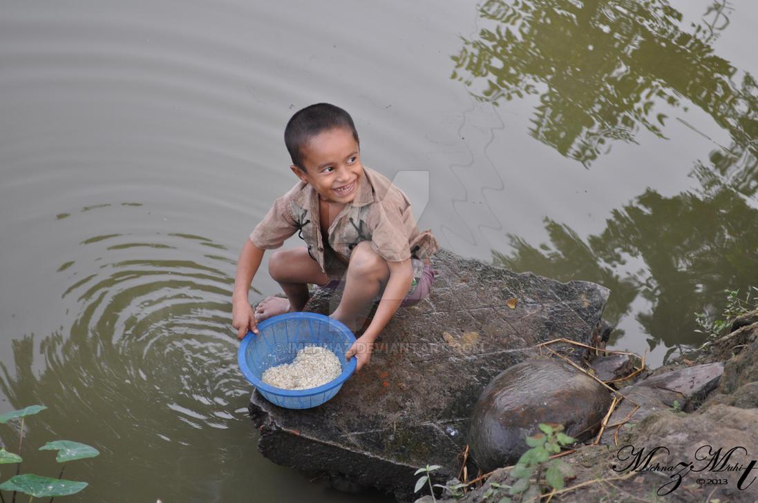 Litte guy [Bangladesh Series] by iMehnaz