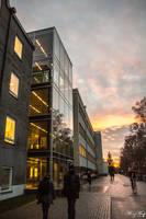 Uppsala University area by iMehnaz