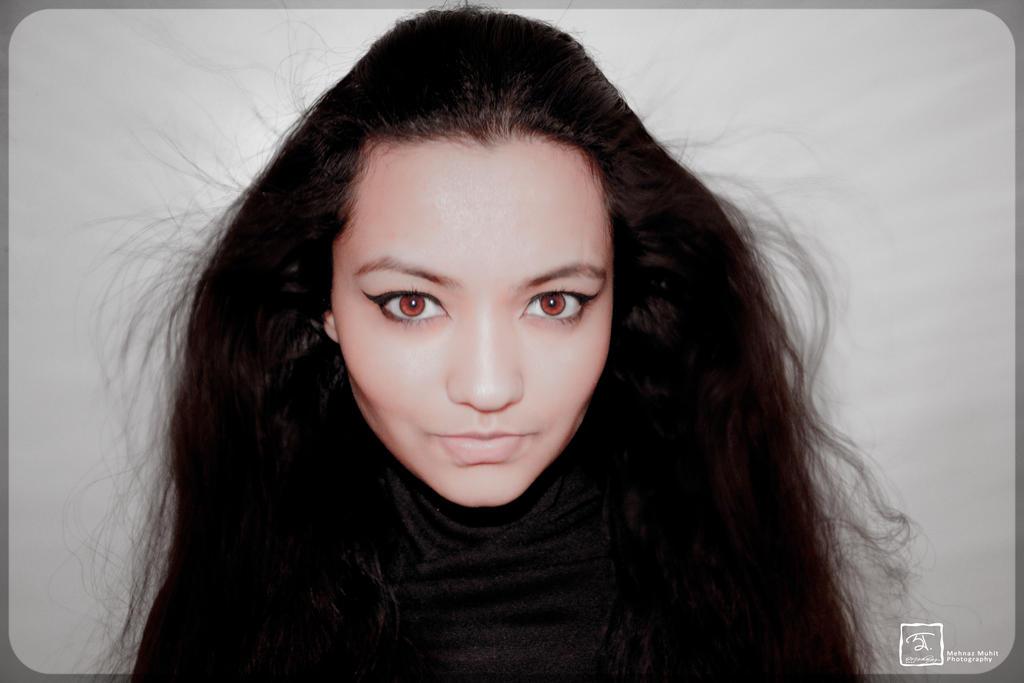 Self-Portrait by iMehnaz