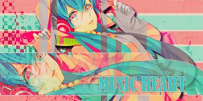 Music Heart by sakucitah
