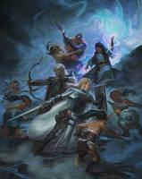 Goblin Battle by kieranyanner