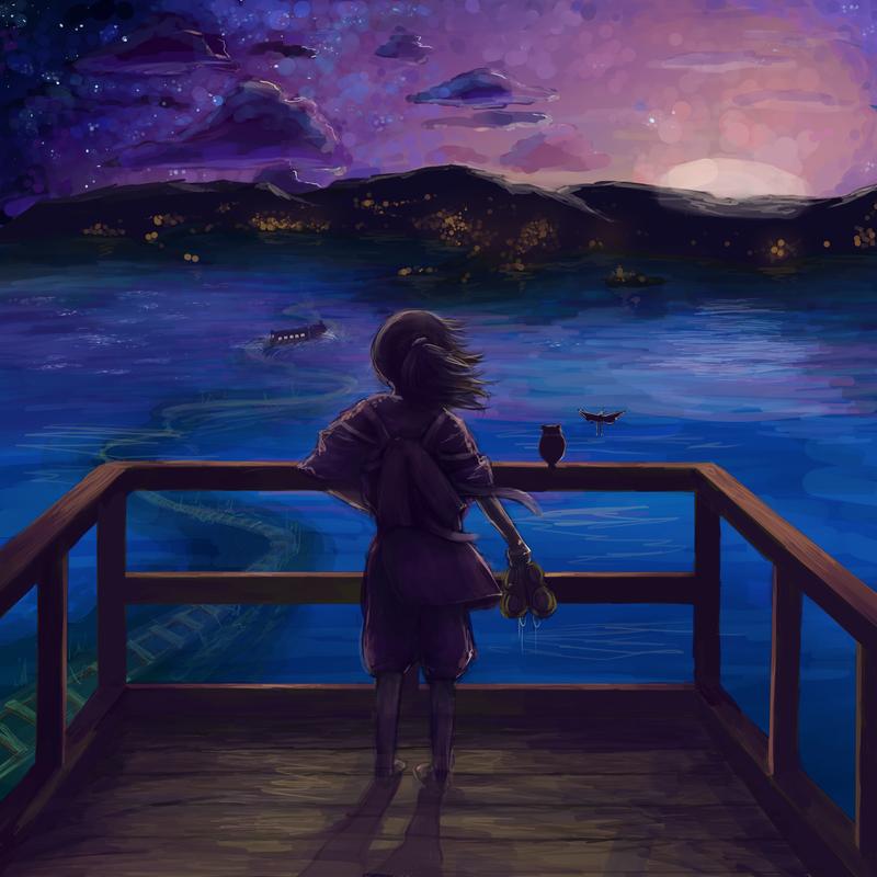 Spirited away by Des-Kii