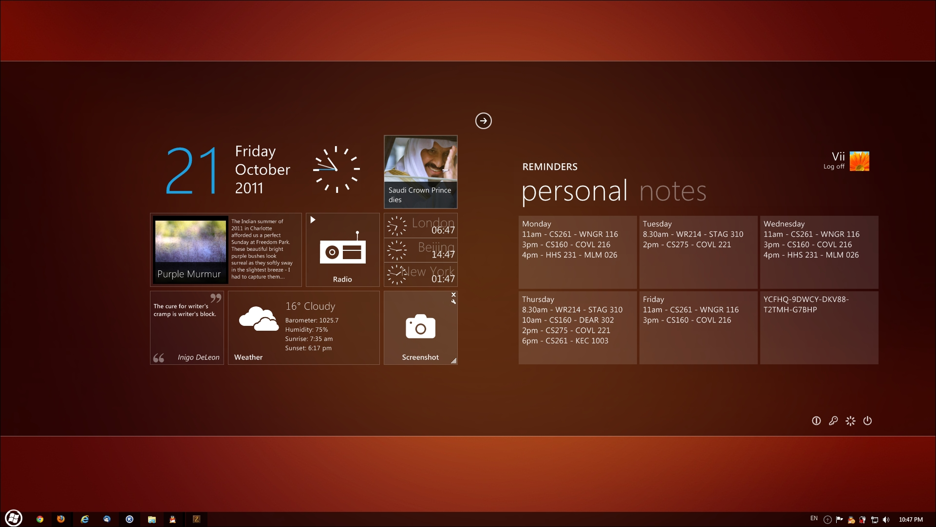 Windows 7 Mango Desktop by dReam-Vii
