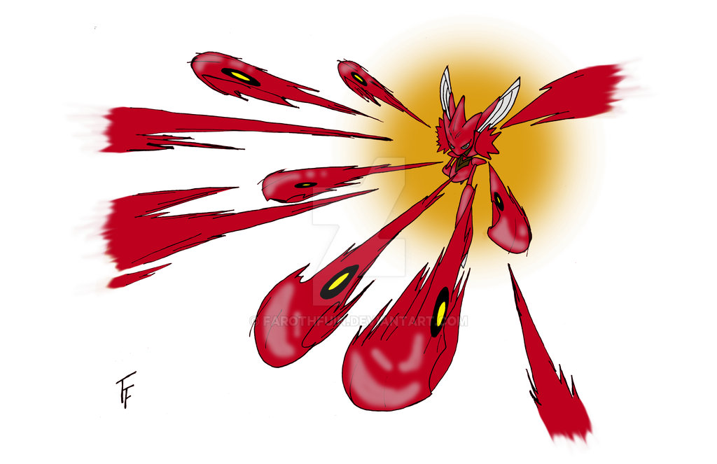 Scizor! Use Bullet Punch! by FarothFuin