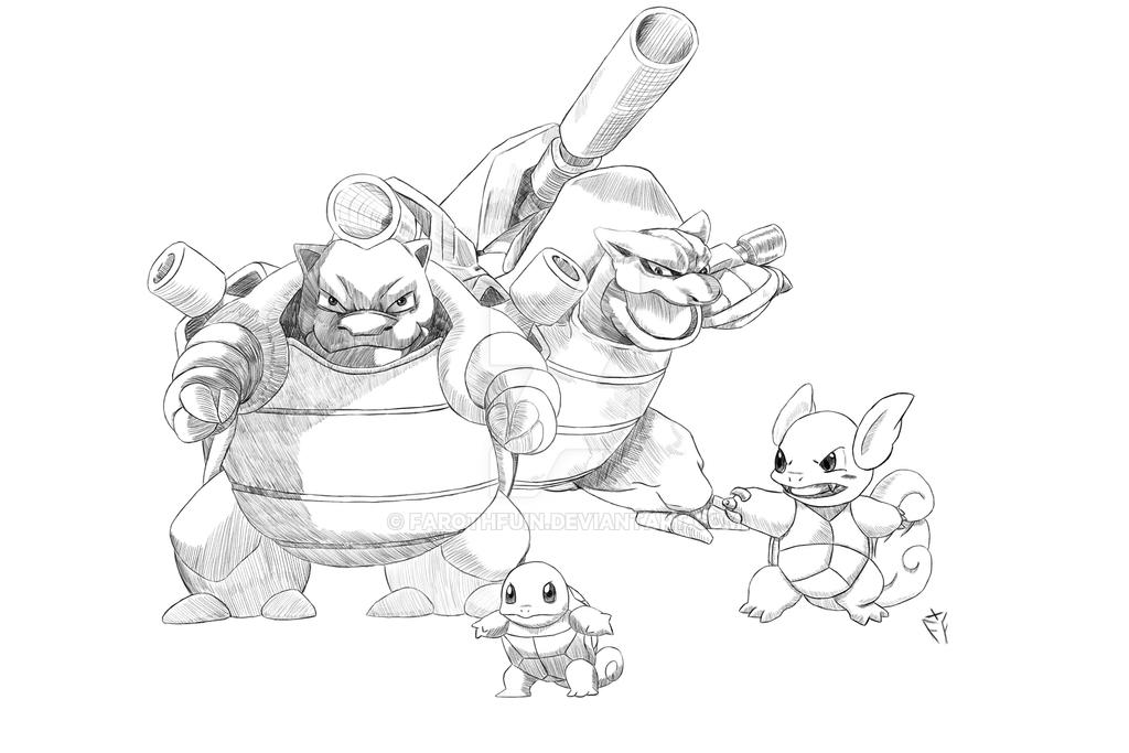 Dia 3 - Tortoise family by FarothFuin