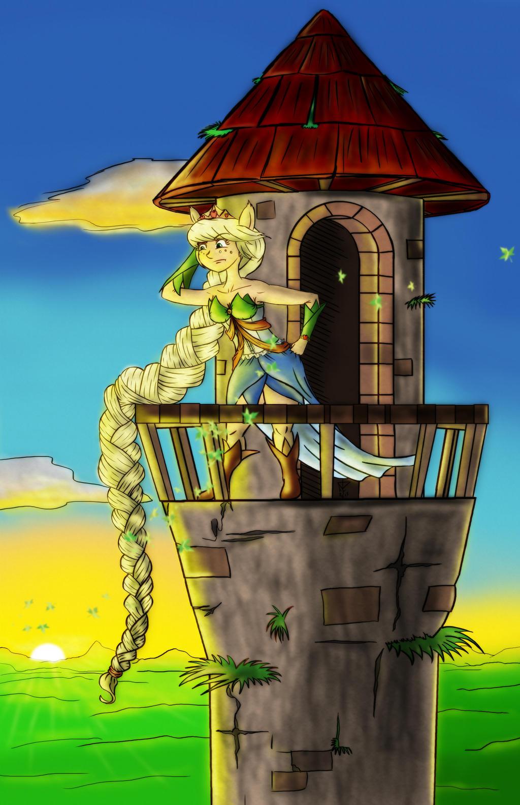 Applejack Rapunzel