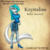 Krystaline VonKraden by FarothFuin