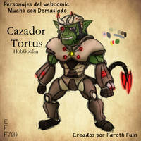 Cazador Tortus by FarothFuin