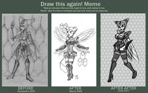 Draw Again - Vespiqueen 2017 by FarothFuin
