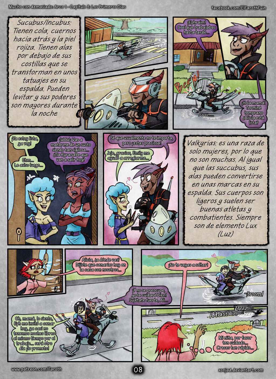 McD: Cap 4 - Pag 08: Succubus, Incubus y Valkyrias by FarothFuin
