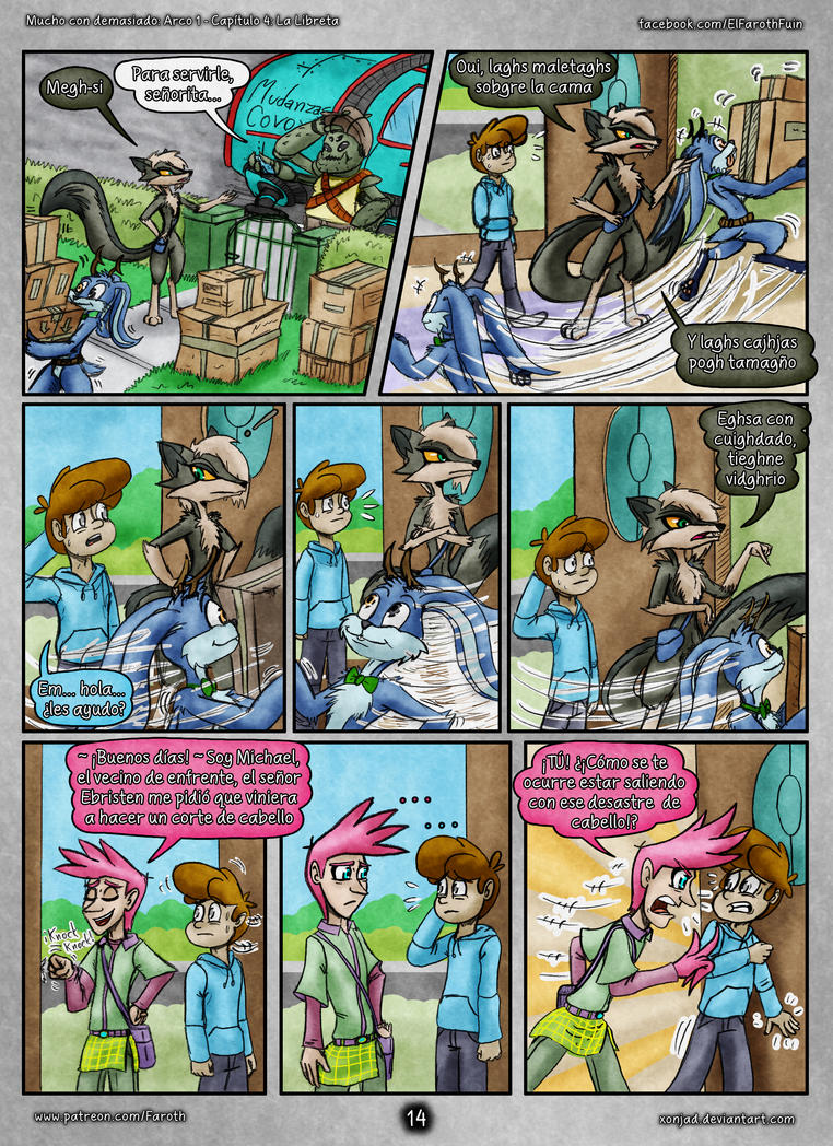 McD: Cap 4 - Pag 14: Llegada de Sasha by FarothFuin