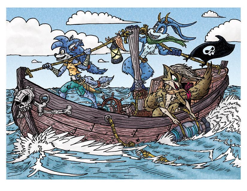 Septiembre De Piratas by FarothFuin