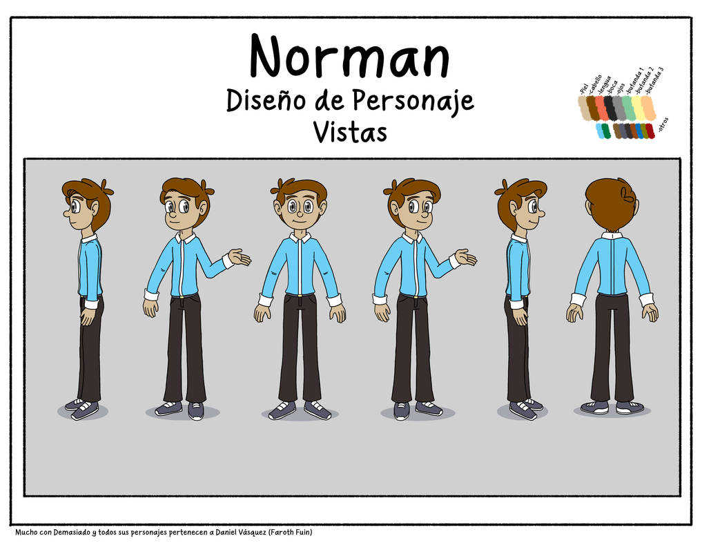 Norman by FarothFuin