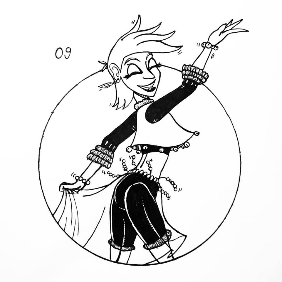 09 - bailando by FarothFuin
