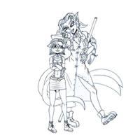 Kyra Y Krystal - FF7