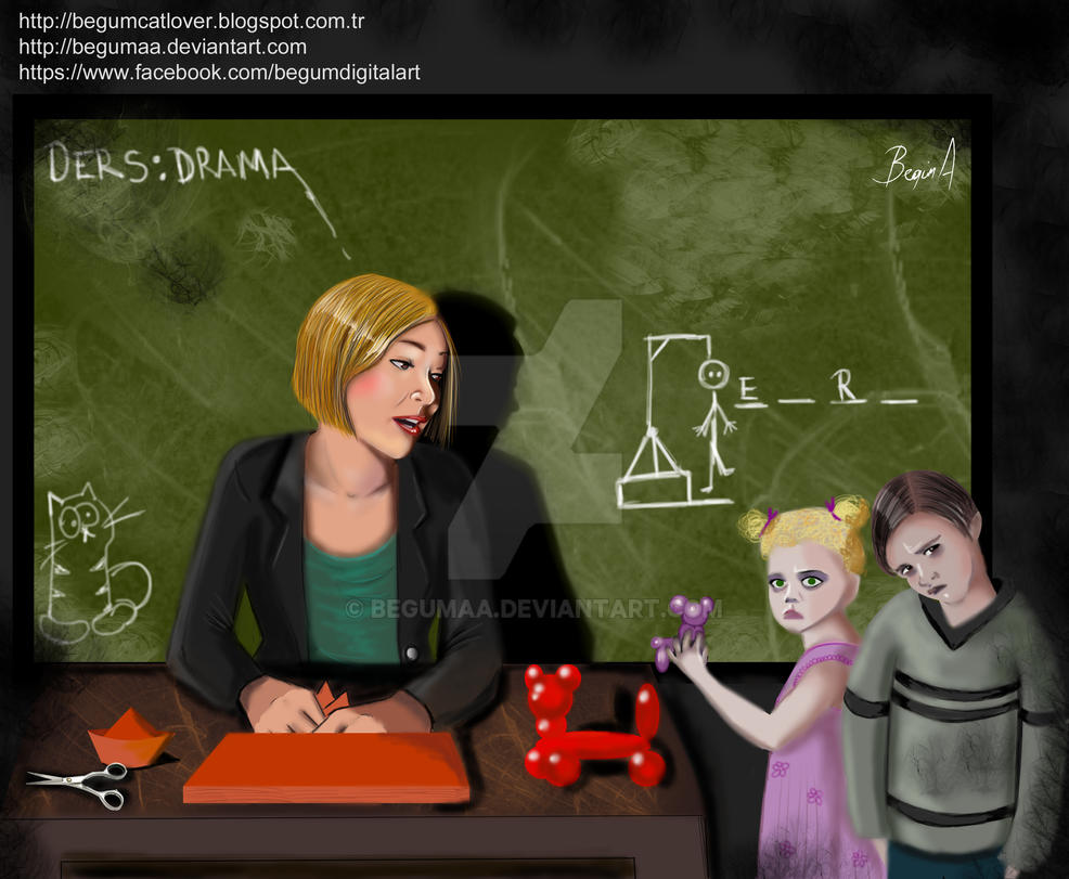 Drama Lesson by begumaa