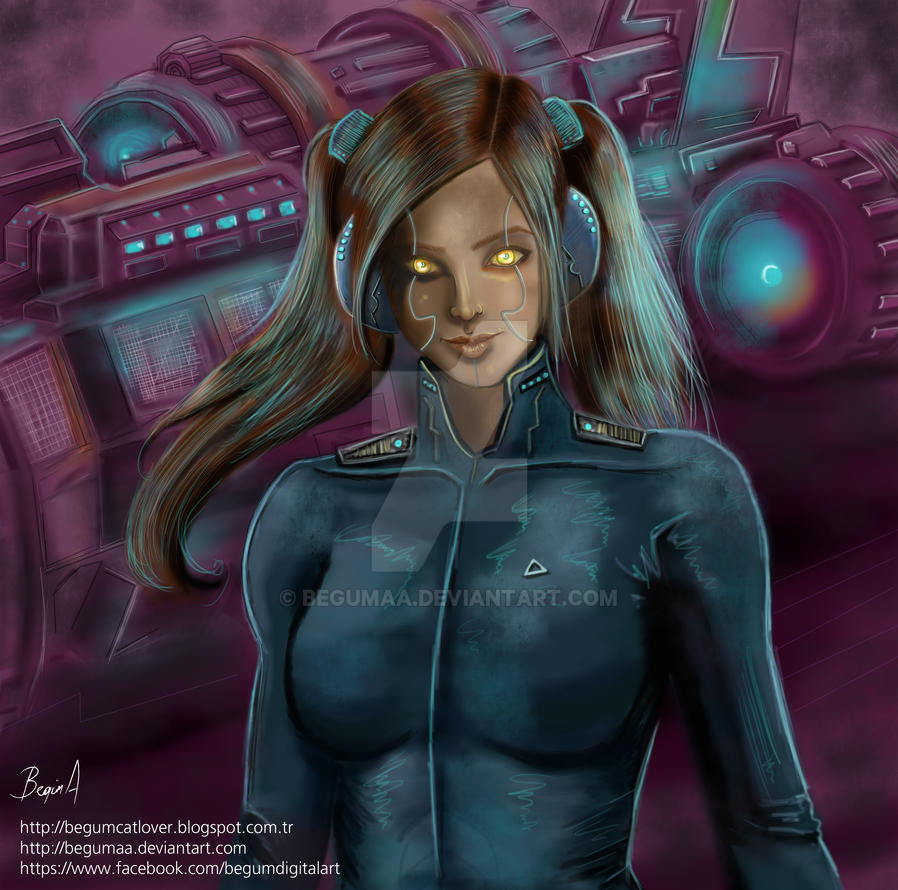 Robot Eve by begumaa