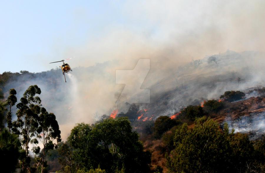 Thousand Oaks Fire 4 by mastersketcher on DeviantArt