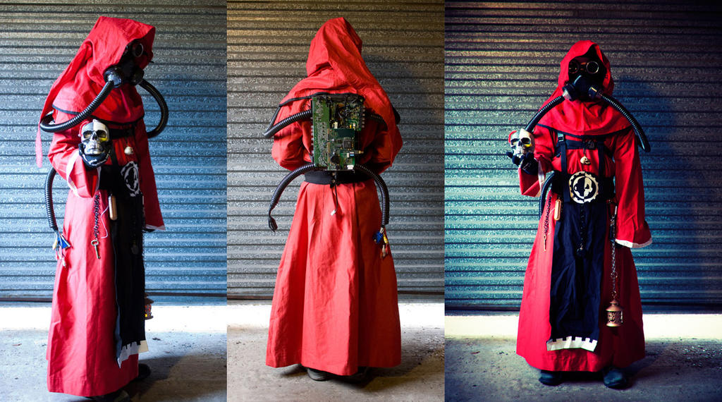 Tech Priest costume by ashblackthorn ... : priest robe costume  - Germanpascual.Com