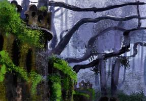 Forest by SeraphimSeranade