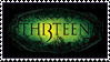THI3TEEN - stamp by JadehPhotos