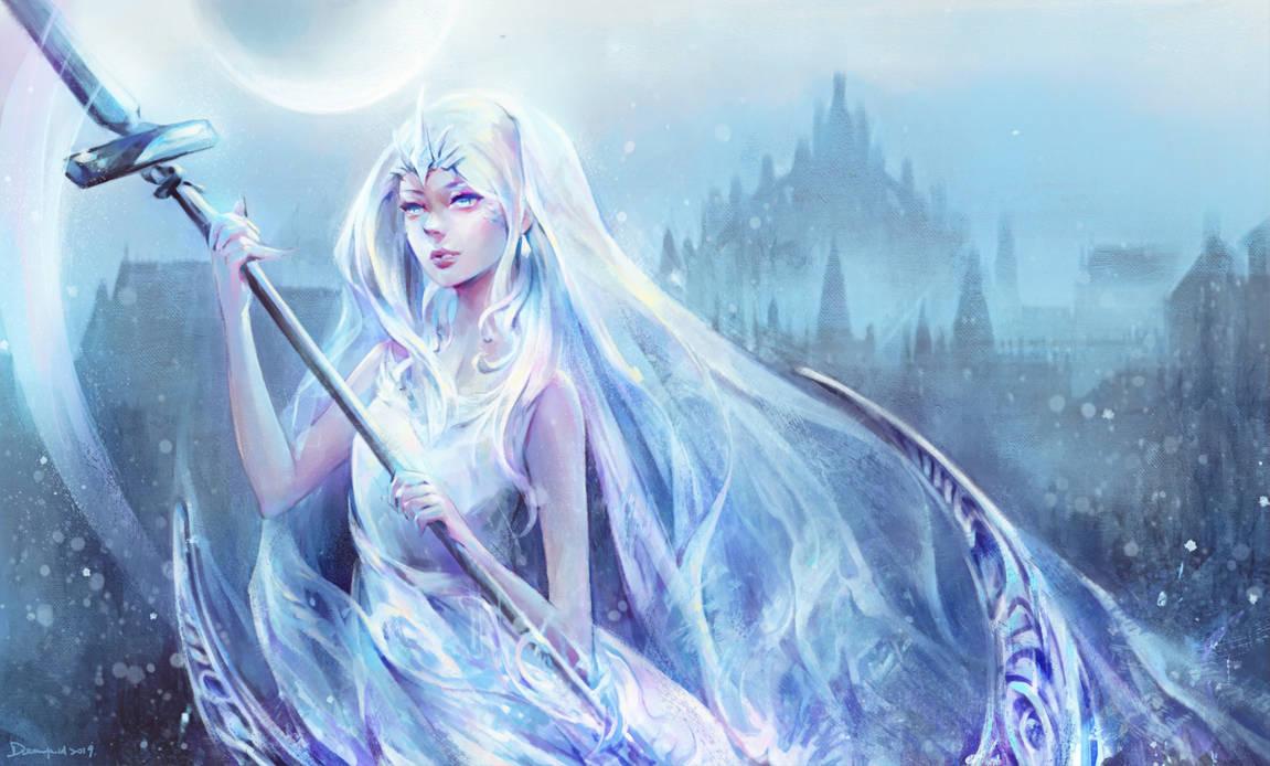Yorshka, Captain of Dark Moon Knights by dreamfield92